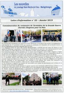1 bulletin 22 janvier 19