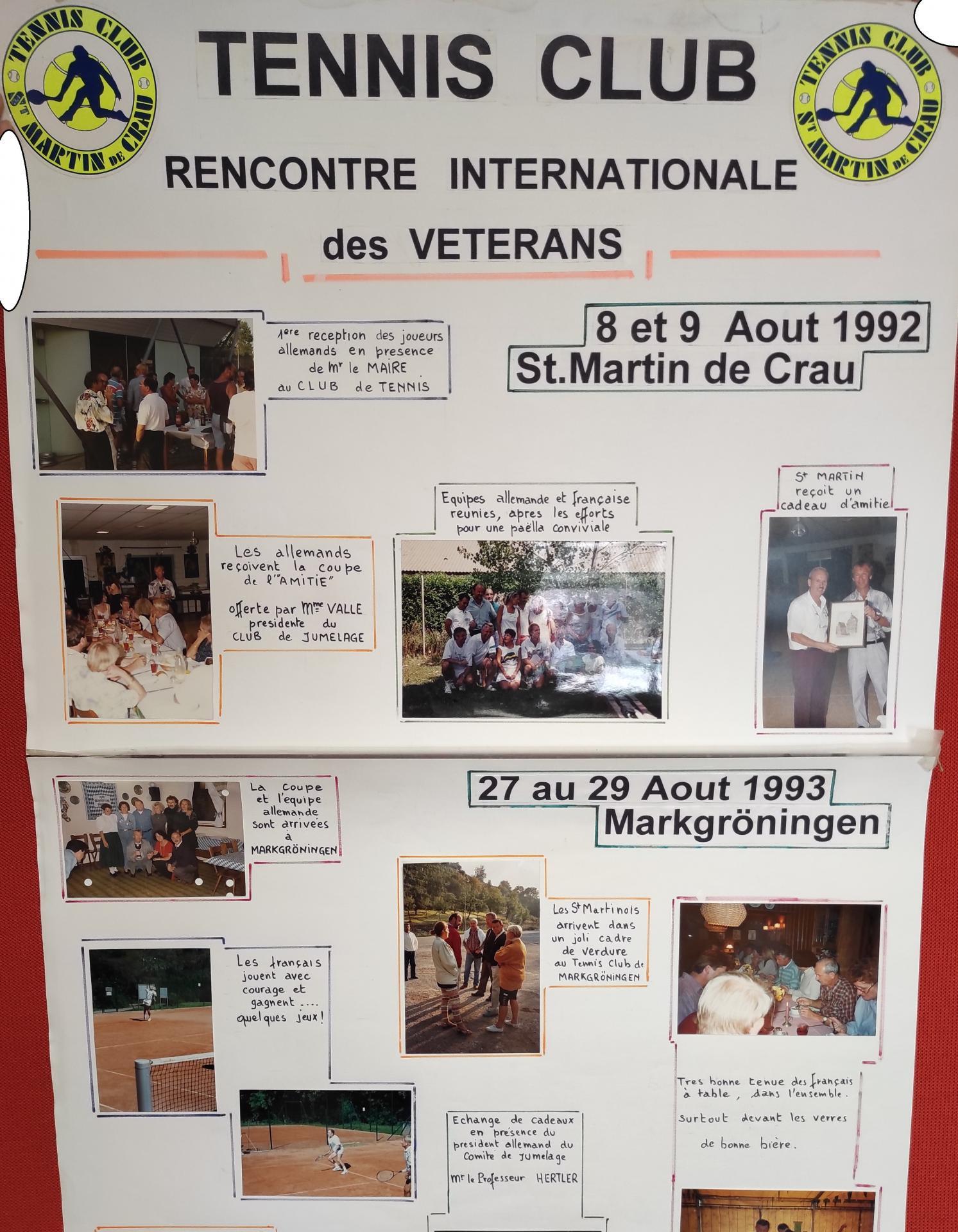 1992 1993 le tennis club