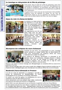 2 bulletin 21 janvier 18